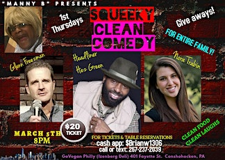 Squeeky Clean Comedy tickets
