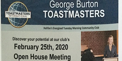 George Burton Toastmasters Open House
