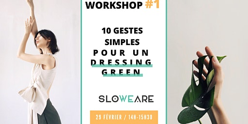 Workshop : 10 gestes simples pour un dressing responsable