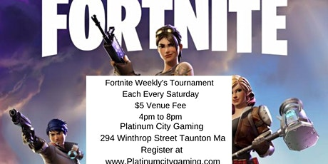 PCG's Fortnite 1v1 Weekly tickets