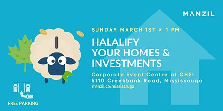 Halalify Your Homes & Investments - MANZIL tickets