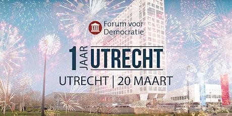 1 jaar Utrecht tickets