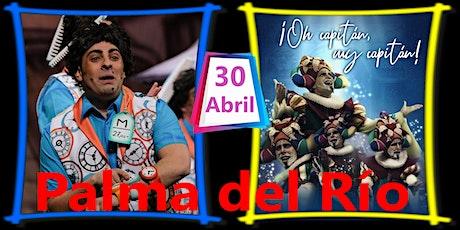 "II Noche Carnavalera ""Arrea Pepa"" Oh capitán, mi c entradas"