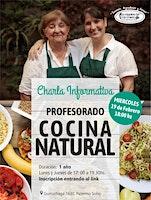 Charla Informativa PROFESORADO COCINA NATURAL  19/02