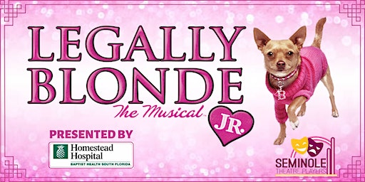 Legally Blonde Jr- Sunday, April 26 3pm