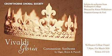 Vivaldi Gloria & Coronation Anthems - Crowthorne Choral Society tickets