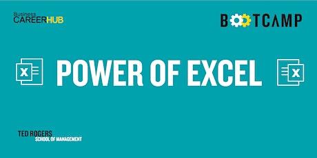 Power of Excel BTM: Level 2 tickets