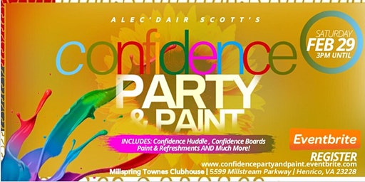 CONFIDENCE PARTY & PAINT