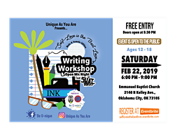 Self-love is the Best Love Writing Workshop and Open Mic Night