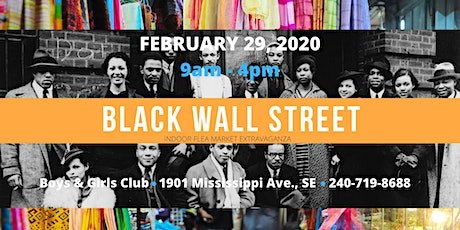 Black Wall Street tickets