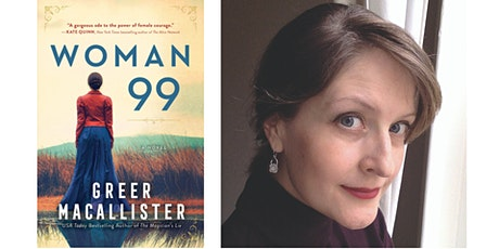 Author Greer Macallister discusses WOMAN 99 tickets