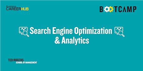 Search Engine Optimization & Analytics Bootcamp tickets