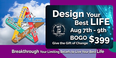 Design Your Best Life! BOGO tickets