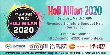 ICA Holi Milan 2020 tickets
