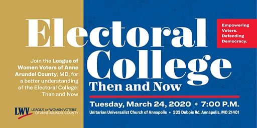 Electoral College: Then & Now