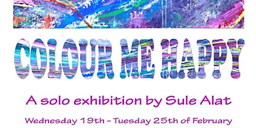 Abstract Art Exhibition by Sule Alat