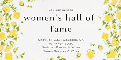 Contra Costa Women's Hall of Fame tickets