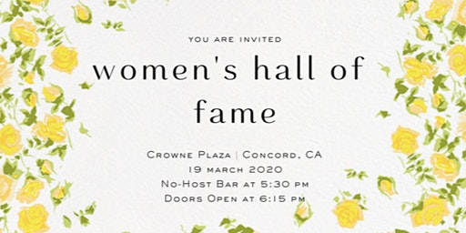 Contra Costa Women's Hall of Fame