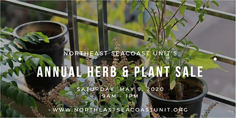 Annual Herb and Plant Sale with the NorthEast Seacoast Unit tickets