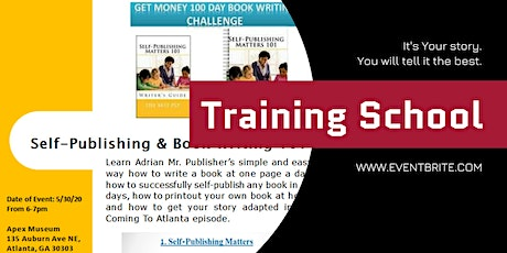Self-Publishing and Book Writing 101 with Mr. Publisher tickets