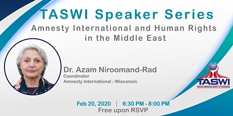 Amnesty International and Human Rights in the Middle East tickets