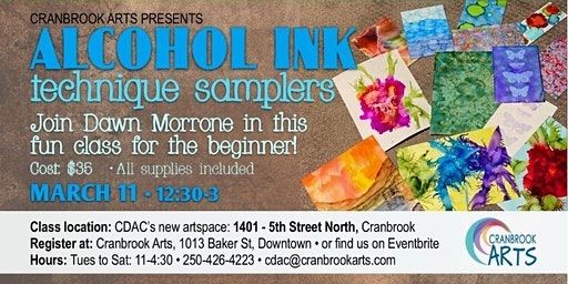 Alcohol Ink Technique Samplers