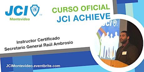 JCI Achieve entradas