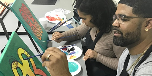 First Friday Adinkra – Sip and Paint Workshop / Party