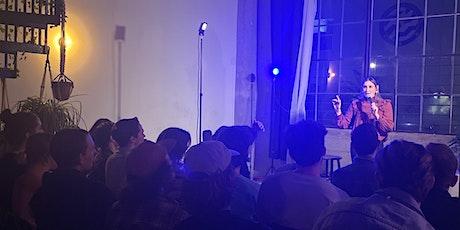 Gena's Jungle (comedy in an artist loft) feat. musical guest Rusty Redden! tickets