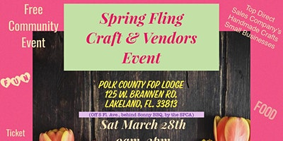 Spring Fling Craft & Vendors Event