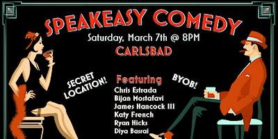 Speakeasy Comedy in Carlsbad