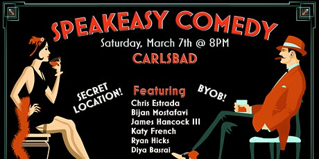 Speakeasy Comedy in Carlsbad tickets