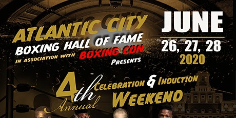 2020 Atlantic City Boxing Hall of Fame Induction Ceremony tickets