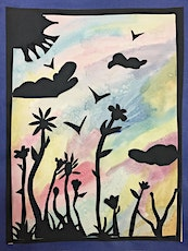 Spring watercolor painting  tickets