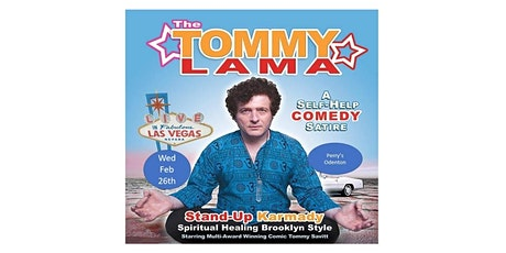 Comedy with the Tommy Lama tickets