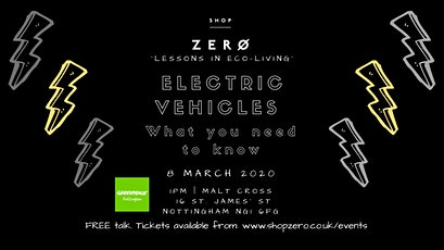 Electric vehicles - what you need to know tickets