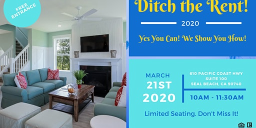 Ditch the Rent! (First Time Home Buyer Event)