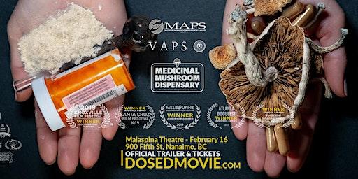 DOSED at Malaspina Theatre in Nanaimo - Feb 16. Q&A to follow 3:30pm show.
