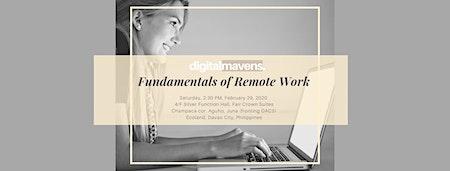 Fundamentals of Remote Work