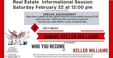 Keller Williams Real Estate Career Informational & Special Event