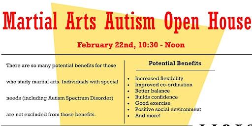 Martial Arts Autism Open House