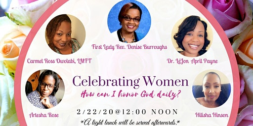 "Celebrating Women - ""How can I honor God daily?"""