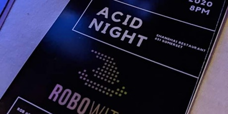 ACID NIGHT 03-03-2020 ~ A Tribute To The TB-303 tickets