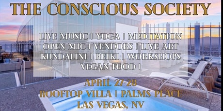 The Conscious Society- Rooftop Palms Place Villa tickets