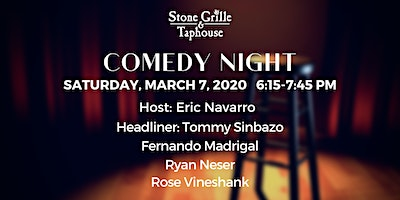 Comedy Night at Stone Grille & Taphouse Show 1