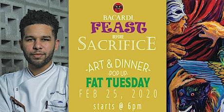 """Feast Before Sacrifice ""  A Mardi Gras Dinner and Art Show "" tickets"