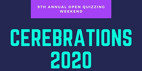Cerebrations 2020 - A Weekend of Quizzing tickets