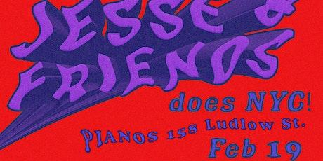 Jesse & Friends NYC tickets