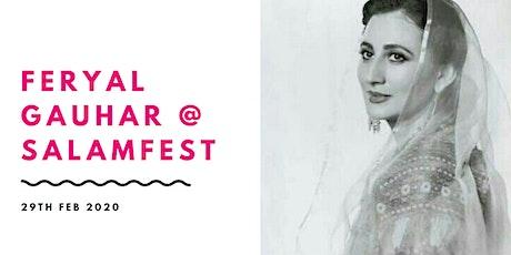 "Feryal Gauhar dramatic reading of ""Tilsm-e-Hosruba"" tickets"