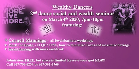 Wealthy Dancers tickets